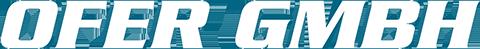 Schriftzug Ofer GmbH